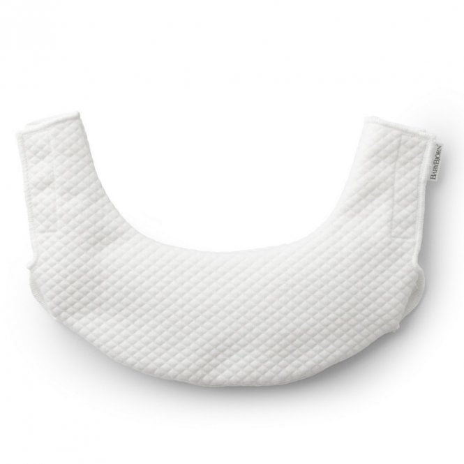 Teething Bib For Baby Carrier One - White