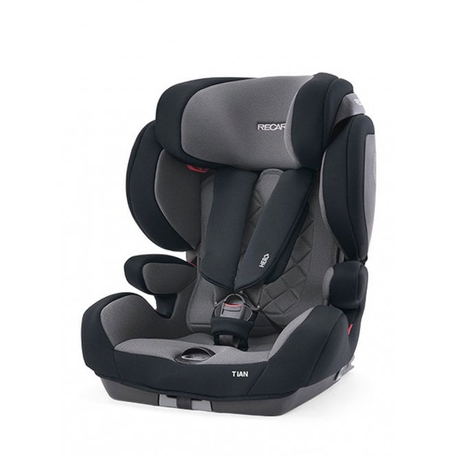 Tian Core Group 1 2 3 Car Seat - Carbon Black