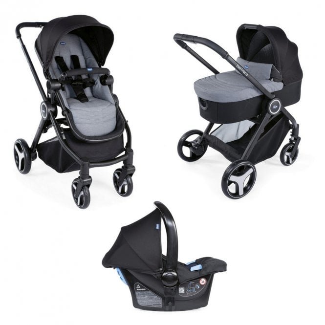 Trio Best Friend Travel System - Light Stone (disco 11 dec 2019)