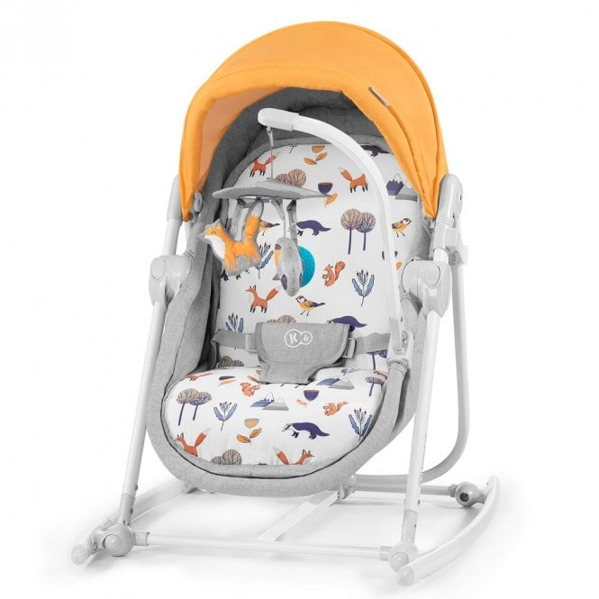 Unimo 2020 5 In 1 Baby Bouncer - Forest Yellow