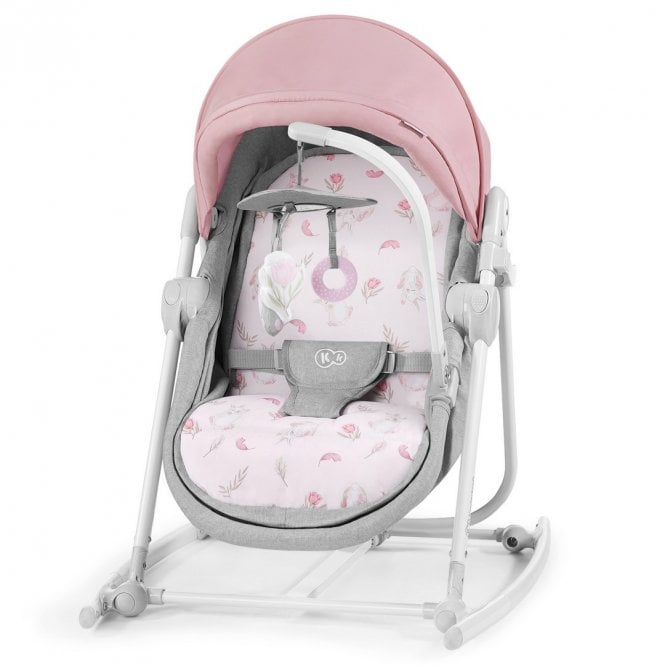 Unimo 2020 5 In 1 Baby Bouncer - Peony Rose