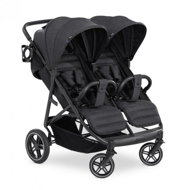 Uptown Duo Pushchair - Melange Black