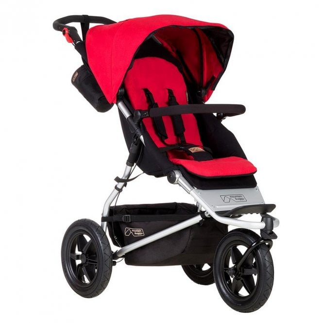 Urban Jungle Pushchair - Berry