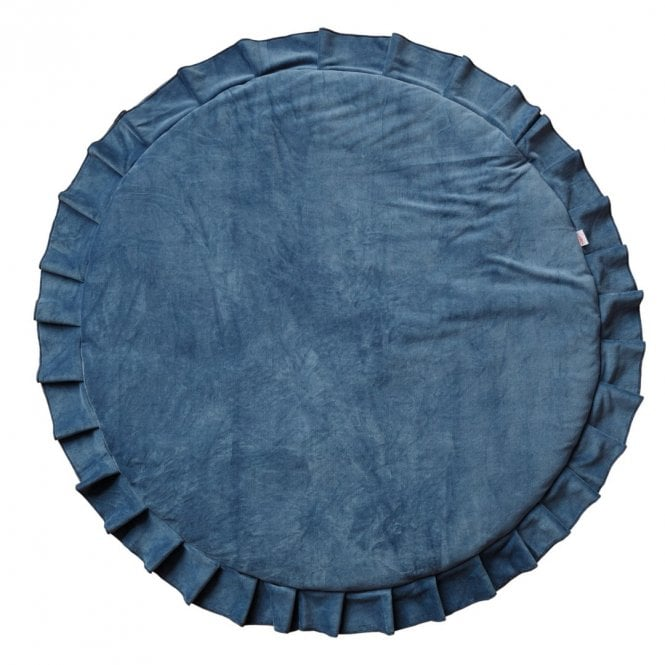 Velvet Playmat - Deep Blue