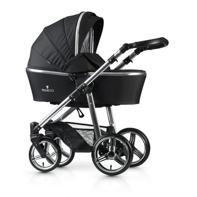 Venicci 2 in 1 Pushchair Special Edition Silver