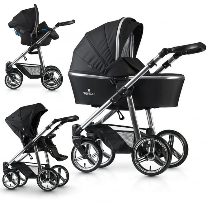Venicci 3 in 1 Pushchair Special Edition Silver