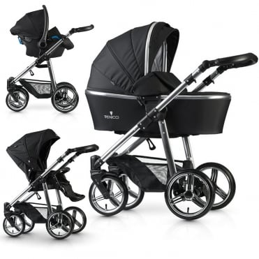 3 in 1 Pushchair Special Edition Silver