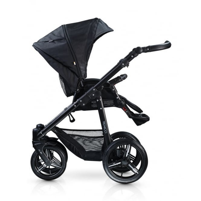 Venicci Soft 2 in 1 Pushchair Black Chassis