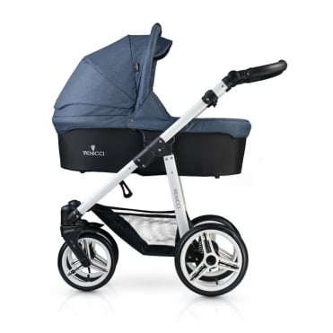 Soft 2 in 1 Pushchair White Chassis