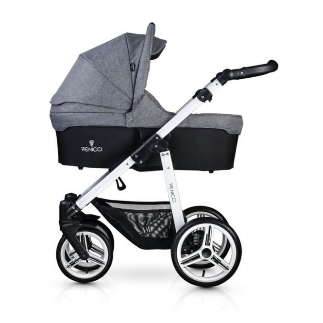 Venicci Soft 2 in 1 Pushchair White Chassis