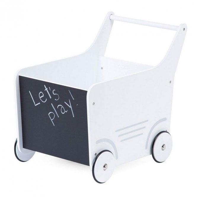 Wooden Stroller - White
