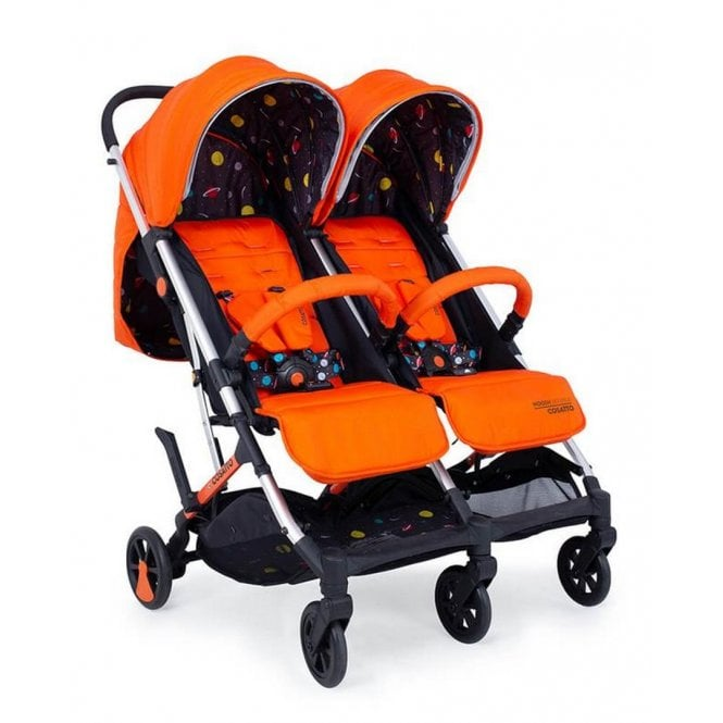Woosh Double Pushchair - Spaceman