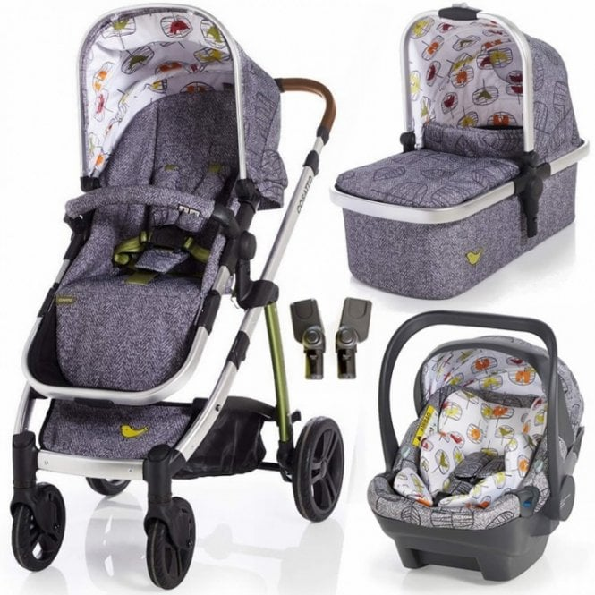 Wow Dock i-Size Travel System Bundle - Dawn Chorus