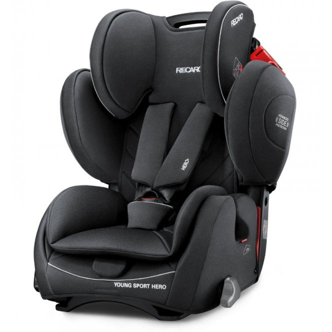 Young Sport Hero Car Seat - Performance Black