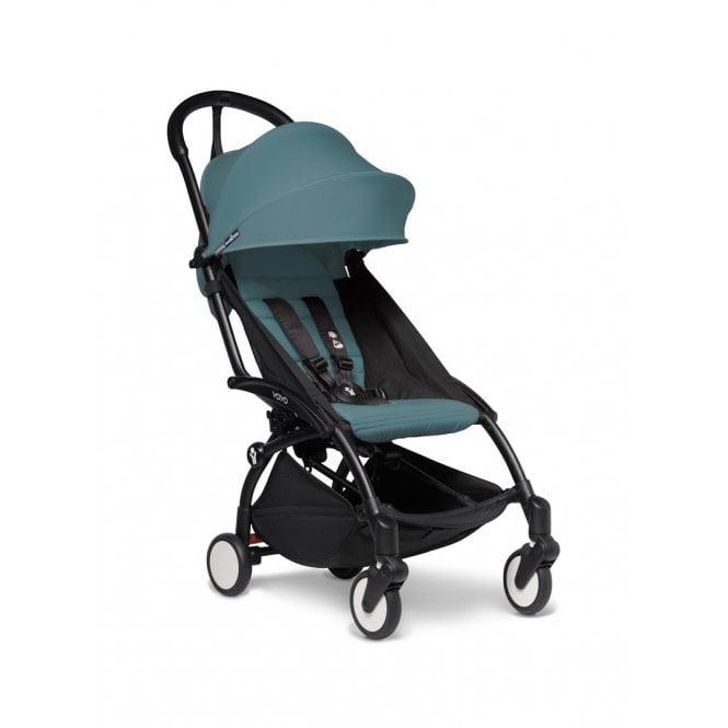 YOYO 2 Pushchair Black Chassis And 6+ Colour Pack