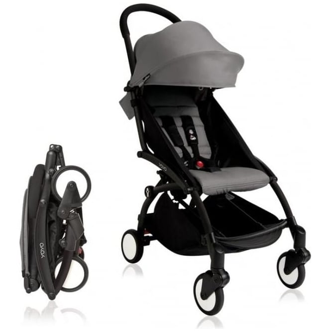 YOYO+ Pushchair Black Chassis and 6+ Colour Pack
