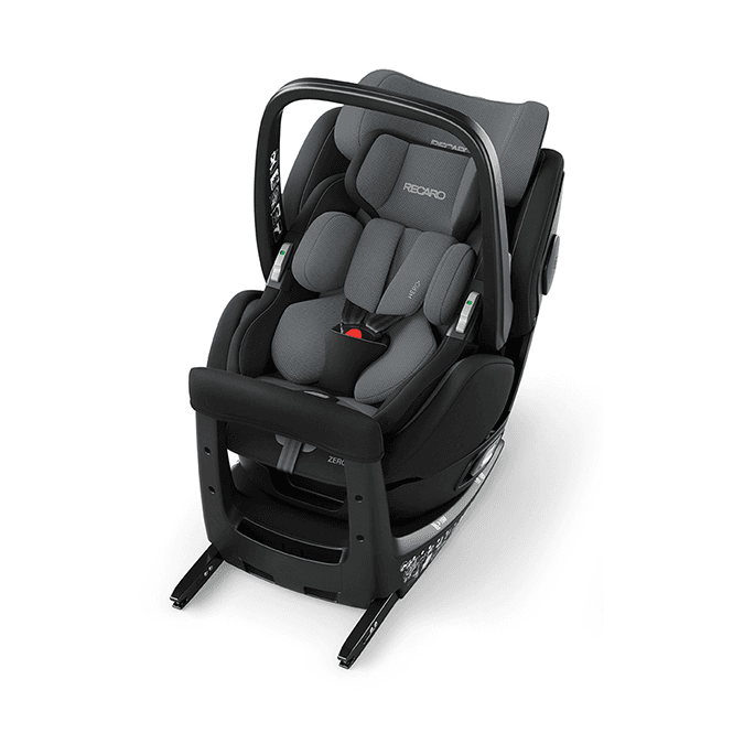 Zero.1 Elite i-Size Car Seat - Carbon Black