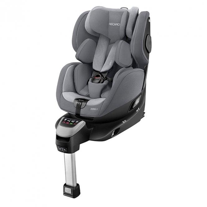 Zero.1 i-Size Car Seat - Aluminium Grey