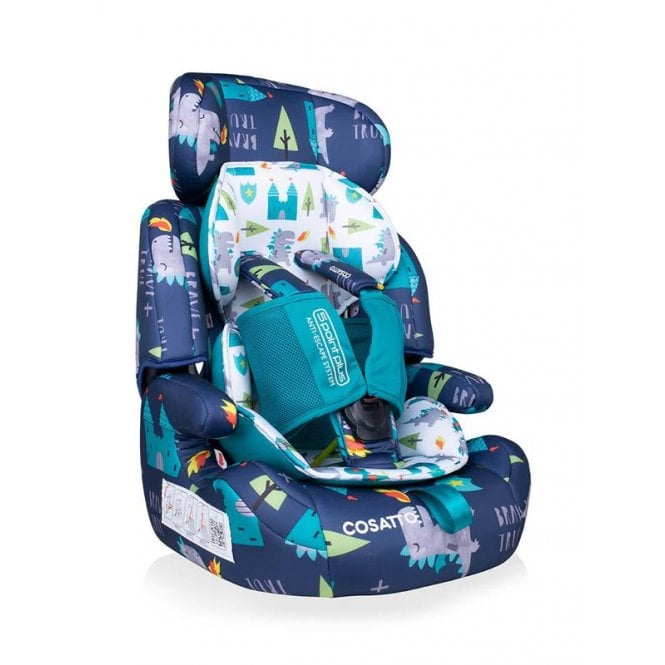 Zoomi Group 123 5 Point Plus Car Seat - Dragon Kingdom