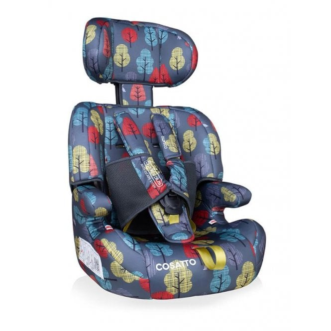 Zoomi Group 123 5 Point Plus Car Seat - Hare Wood
