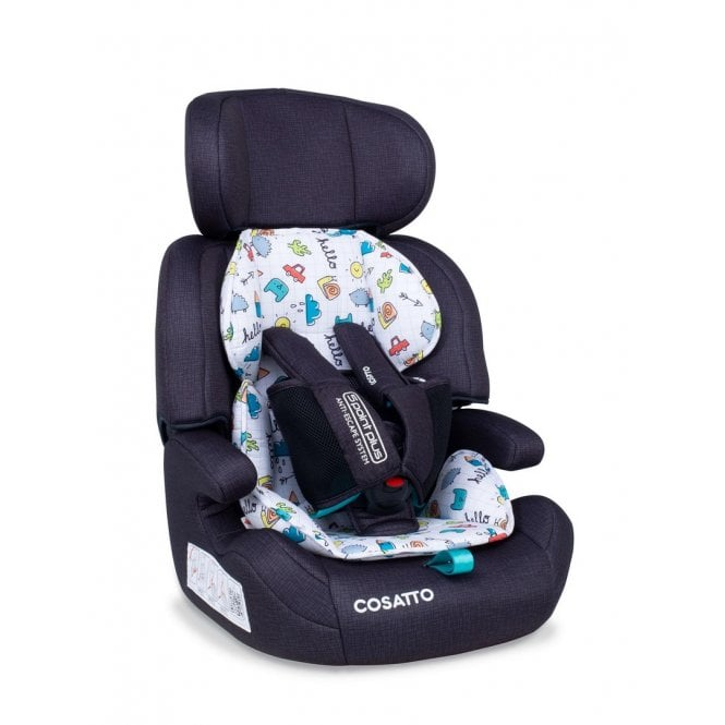 Zoomi Group 123 5 Point Plus Car Seat - Say Hello